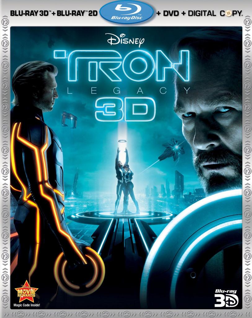 Tron legacy 3d blu ray