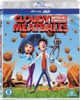 Zataženo, občas trakaře 3D (Cloudy With a Chance of Meatballs 3D, 2009) (Blu-ray)