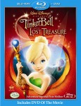 Zvonilka a ztracený poklad (Tinker Bell and the Lost Treasure, 2009) (Blu-ray)