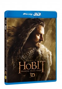 Hobit: Šmakova dračí poušť (Hobbit: The Desolation of Smaug, 2013) (Blu-ray)