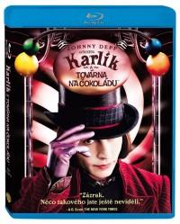 Karlík a továrna na čokoládu (Charlie and the Chocolate Factory, 2005) (Blu-ray)