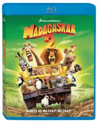 Madagaskar 2: Útěk do Afriky (Madagascar: Escape 2 Africa, 2008) (Blu-ray)