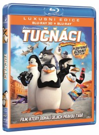Tučňáci z Madagaskaru (Penguins of Madagascar, 2014) (Blu-ray)