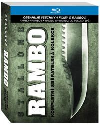 Rambo kolekce 1.-4. (Rambo 1-4, 2011)