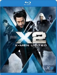 X-Men 2 (X-Men 2 / X2 / X-Men United, 2003) (Blu-ray)