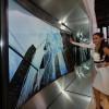 Televizní monstrum: Samsung odhalil ohybatelného 105palcového macka