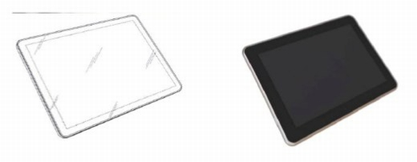 Apple patent vs. Samsung Galaxy Tab 10.1