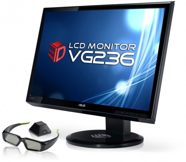 Full HD 3D LCD monitor ASUS VG236
