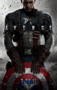 Captain America: The First Avenger (2011) - poster