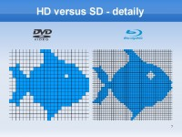 HD versus SD - detaily