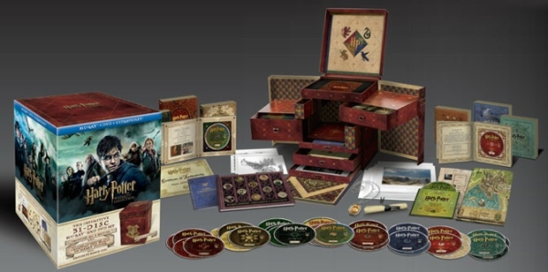 Harry Potter Wizard´s Collection (Blu-ray)