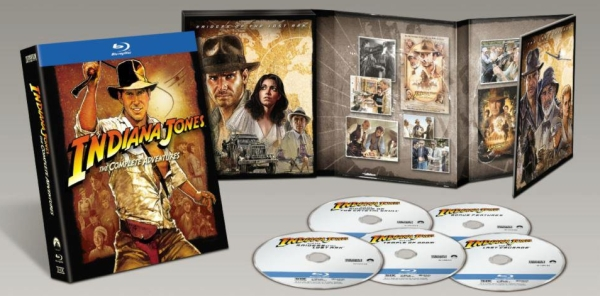 Indiana Jones (Complete Adventures Blu-ray)