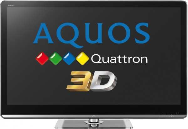 Sharp AQUOS 3D Quattron