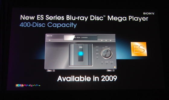 Blu-ray changer Sony BDP-CX7000ES - promo