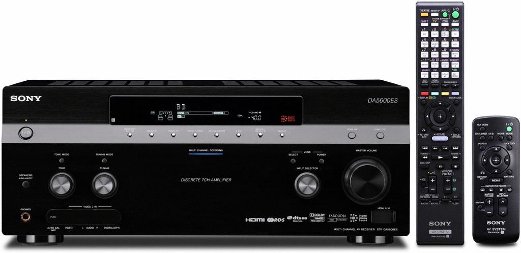 Nové AV receivery Sony legendární kvality ES
