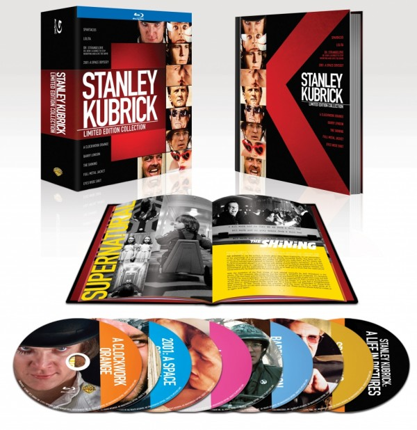 Stanley Kubrick Limited Edition Collection (2011) - Blu-ray