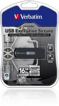 USB klíč Verbatim Executive Secure 16 GB