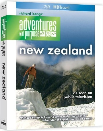 Adventures with Purpose: New Zealand (Blu-ray)  HDmag.cz