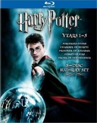 Kolekce Harry Potter - roky 1-5 (Harry Potter 5-Disc Set, 2008)