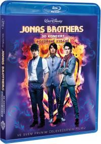 Jonas Brothers: 3D Koncert (Jonas Brothers: The 3D Concert Experience, 2009) (Blu-ray)