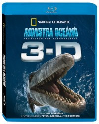 Monstra oceánů 3D: Pravěké dobrodružství (Sea Monsters 3D: A Prehistoric Adventure, 2007) (Blu-ray)