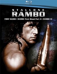 Trilogie Rambo (Rambo Trilogy / Rambo 1-3 Box Set, 2008)