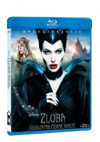 Zloba - Královna černé magie (Maleficent, 2014) (Blu-ray)